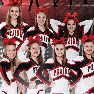 Clinton Prairie Cheerleading 2016-2017